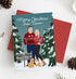 Miss Design Berry Holiday Cards Holiday Card with Portrait in Ugly Holiday Sweaters