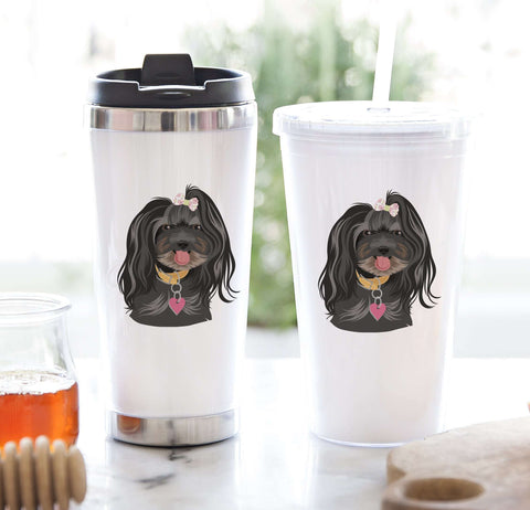 Miss Design Berry Mug Gift Set Tumbler Gift Set with Personalized Pet Portrait