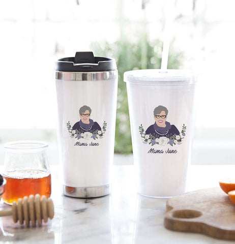 Miss Design Berry Mug Gift Set Tumbler Gift Set with Personalized Portrait
