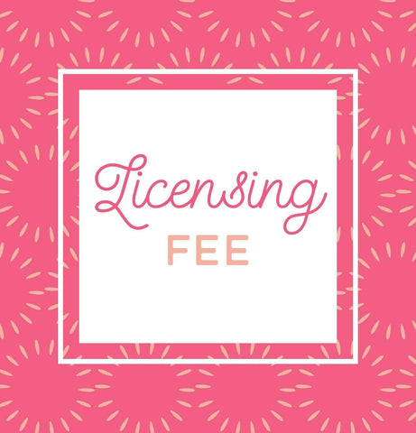 Miss Design Berry order add-on Art License Fee