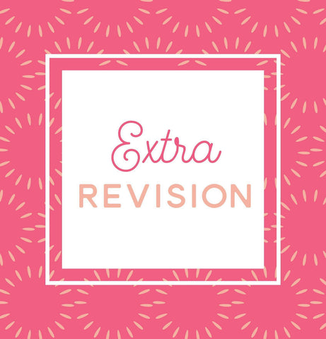 Miss Design Berry order add-on Extra Revision Round