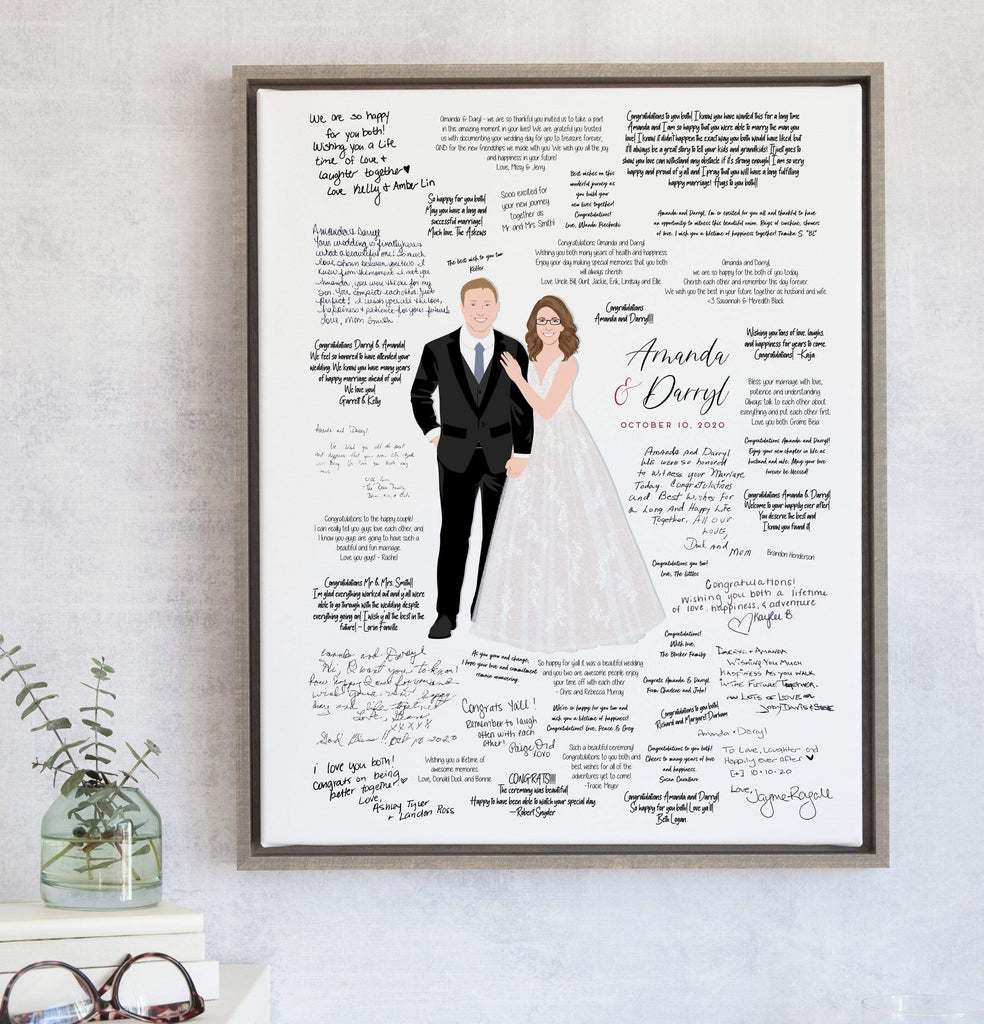 Real Guest Books For Virtual Weddings