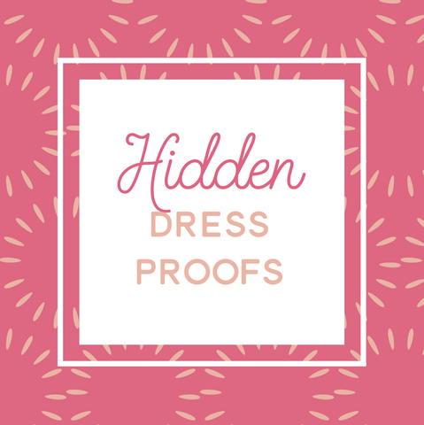 Miss Design Berry order add-on Hidden Dress Proofs