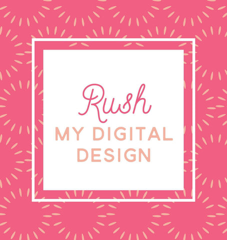 Miss Design Berry order add-on Rush My Digital Design