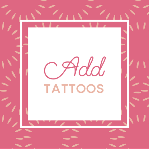 Miss Design Berry order add-on Tattoo Add-On