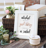 Miss Design Berry Sign Wedding Bar Signs - The Penny