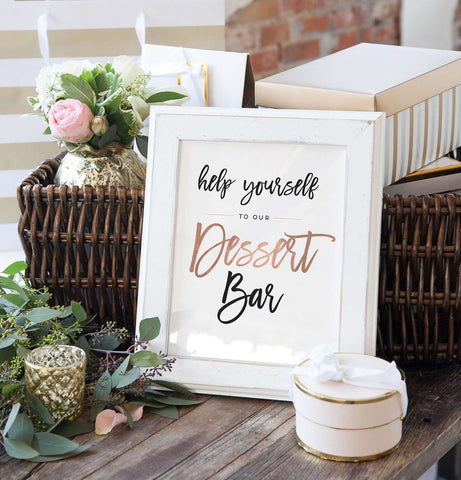 Miss Design Berry Sign Wedding Dessert Bar Sign - The Penny