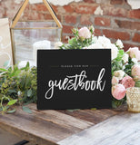 Miss Design Berry Sign Wedding Sign - Sign Our Guestbook - The Penny
