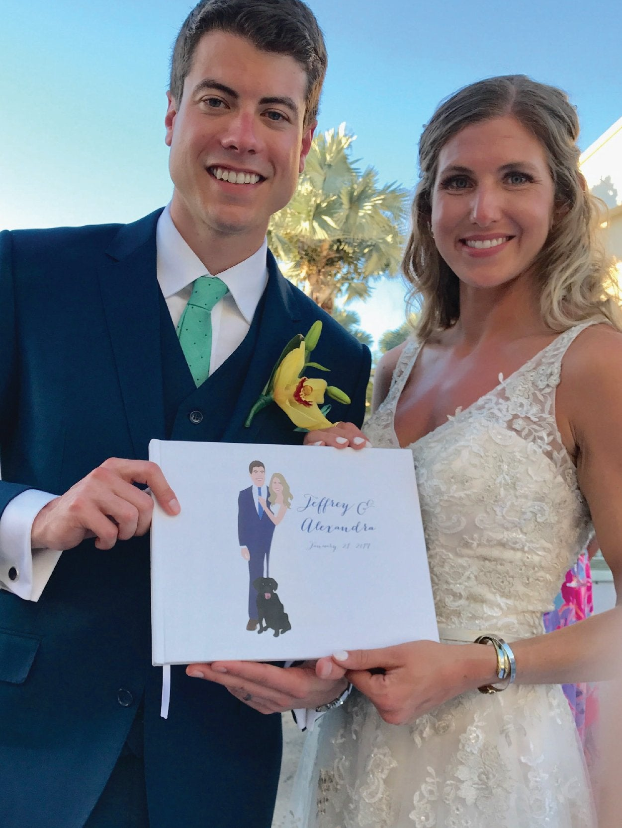 Wedding Portrait Guest Book