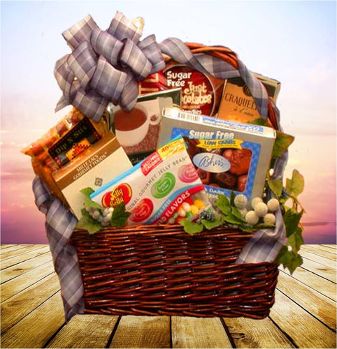 Gifts for kids and teens simply sugar free gift basket negle Choice Image