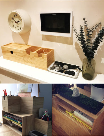 Wooden office Elegant Image Of Wooden Office Desk Organizers Set Style With Wood Wooden Office Desk Organizers Set Style With Wood