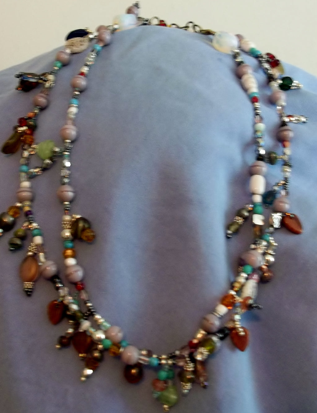 Surprise Necklace - It Is Full of Beautiful Beads in Shapes that will Surprise You