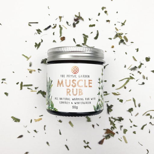 The Physic Garden Muscle Rub-Body Care-Eco Warehouse Aus