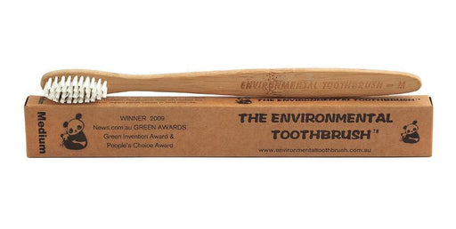 Environmental Toothbrush Adult Medium-Bathroom-Eco Warehouse Aus