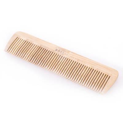 Bass Bamboo Wood Comb Pocket Size Fine Tooth