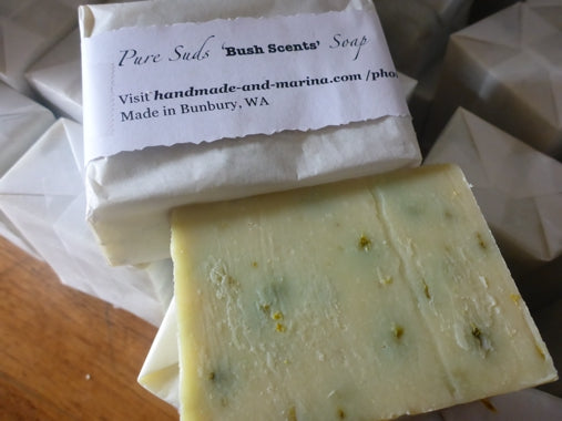 Handmade & Marina  Soap Bar