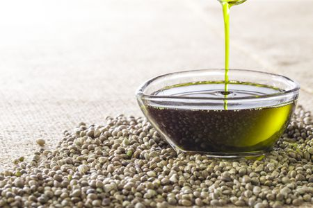 Hemp Oil Australian Organic Cold Pressed ($ per 100g) - 6002-Bulk Food-Eco Warehouse Aus