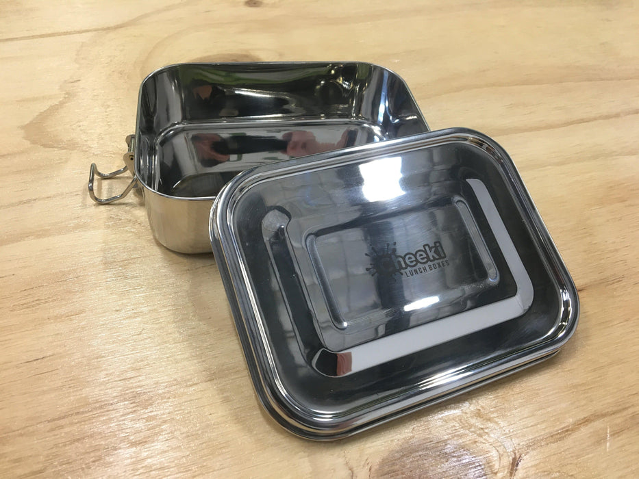 Cheeki Stainless Steel Lunch Box-Lunchbox-Eco Warehouse Aus