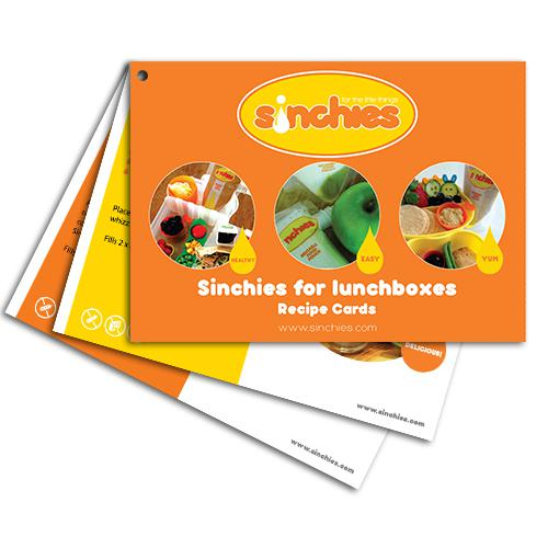 Sinchies Recipe Cards for Lunchbox Ideas-General-Eco Warehouse Aus
