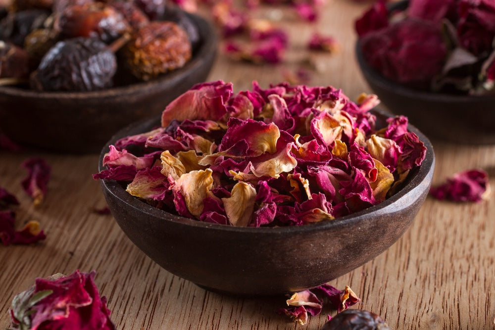 Dried Flowers - Rose Petals ($ per 100g)