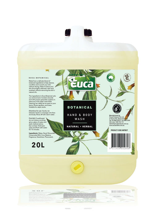 Euca Botanical Hand & Body Wash - Refill ($ per 100g)
