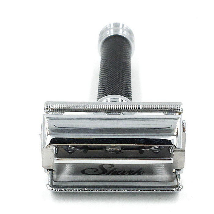 Parker 76R Butterfly Black Closed Comb Double Edge Safety Razor / Shaver