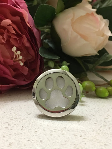30mm Stainless Steel Car Diffuser - Paw