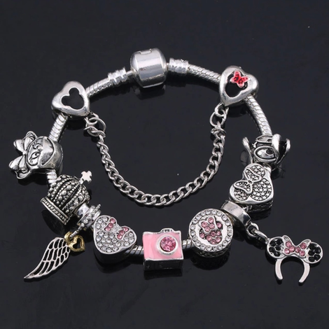 Little Princess Charms Bracelet - #05