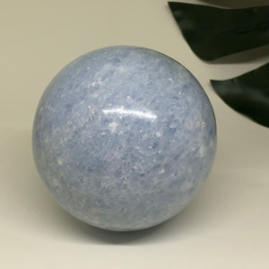 Blue Calcite Sphere BCS01