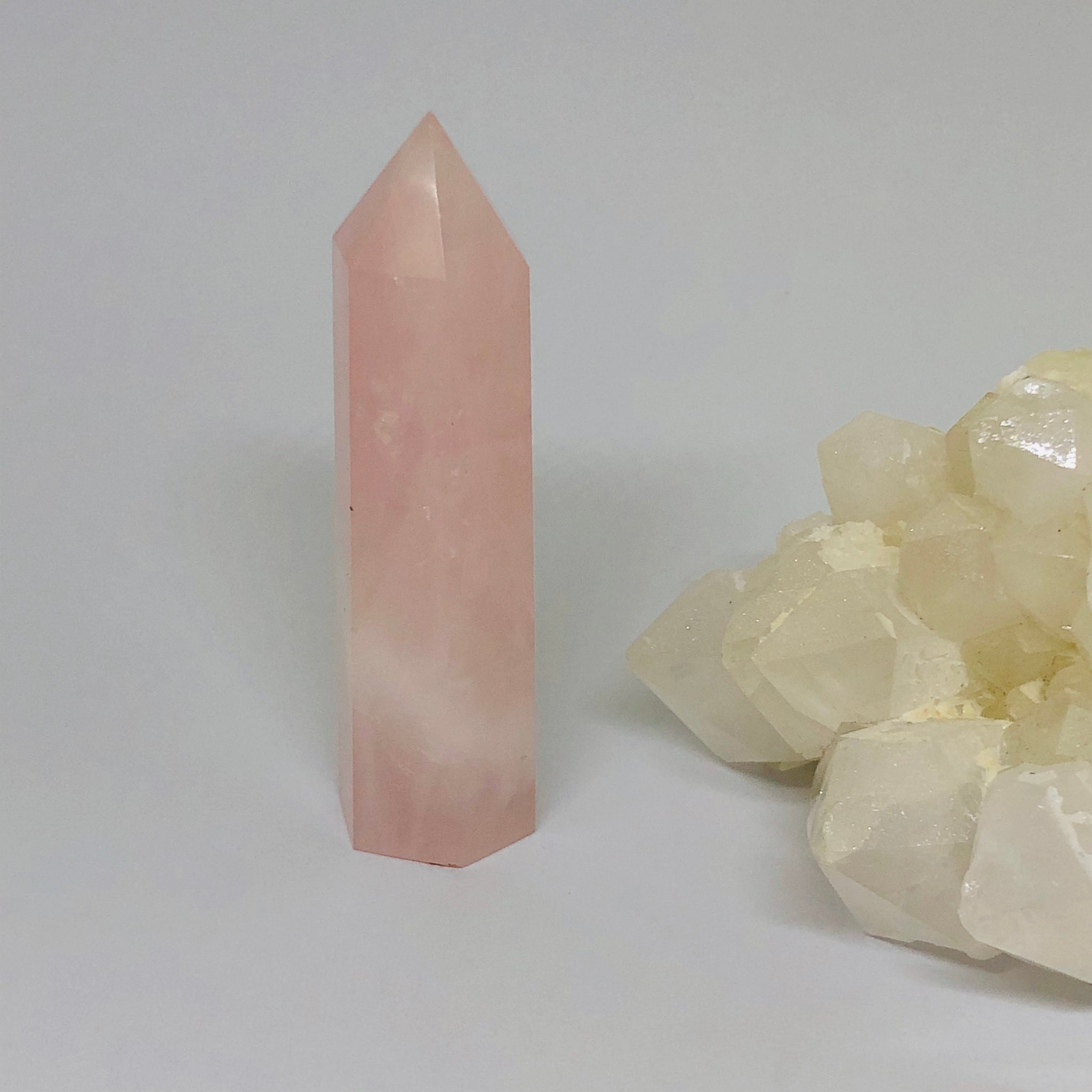 Rose Quartz Point - RQP2