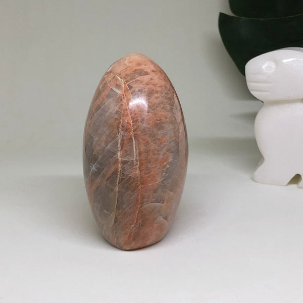 Peach Moonstone Free Form PMFF02