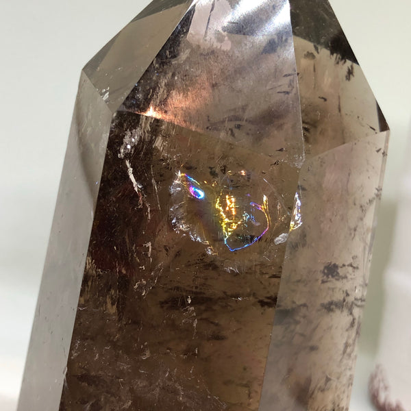Smoky Quartz Tower SMQT01