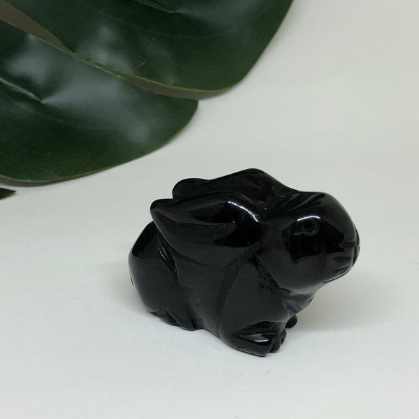 Black Obsidian Rabbit - RB103