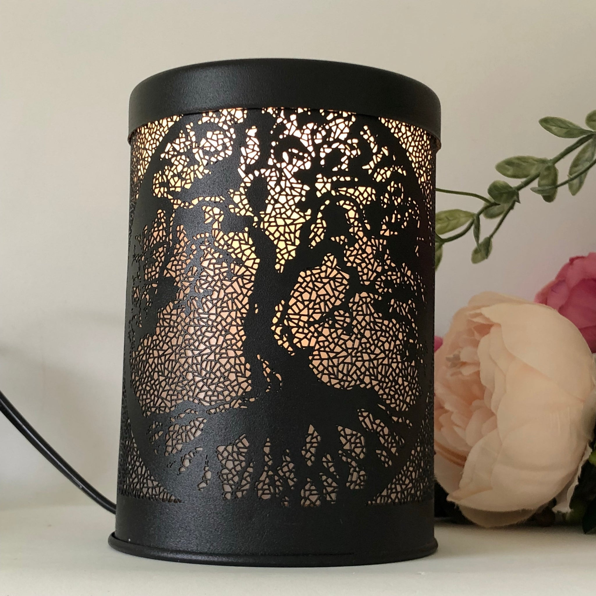 Tree Of Life Metal Electric Melt Warmer