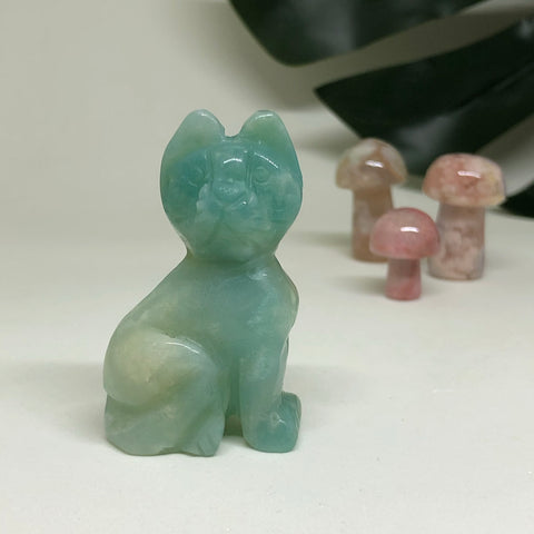 Amazonite Cat CT104