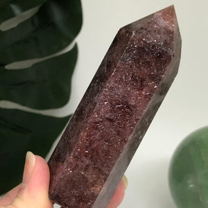 Strawberry Quartz Point SQP10