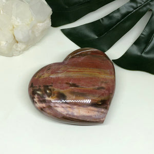 Petrified Wood Heart PWH101