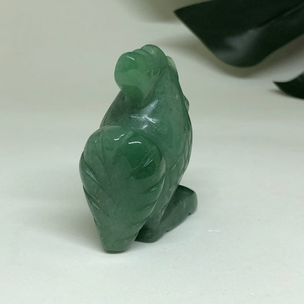 Green Aventurine Rooster RST01