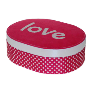 Love Oval Jewellery Box