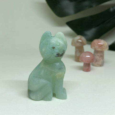 Amazonite Cat CT103
