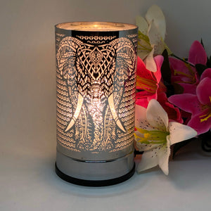 Ellie Touch Melt Warmer - Silver