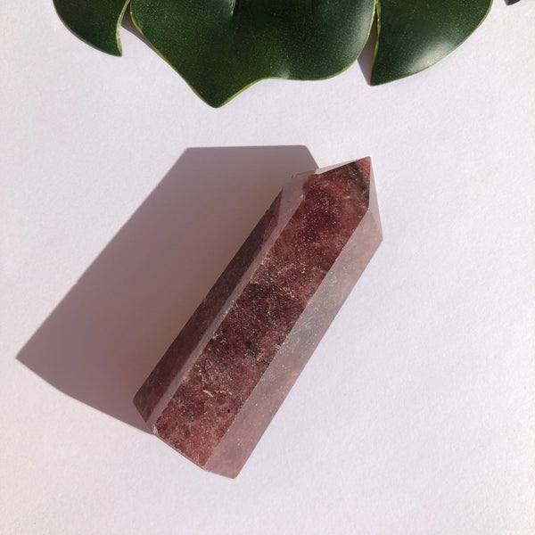 Strawberry Quartz Point SQP23