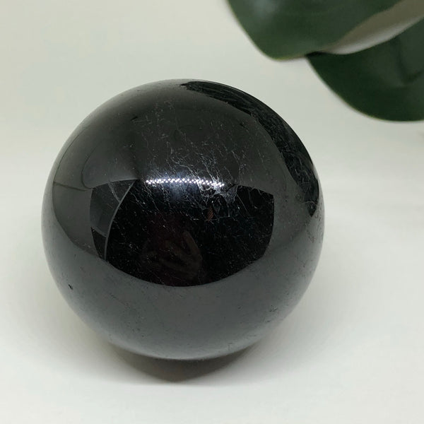 Black Tourmaline Sphere BTS01