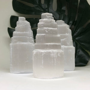Selenite Tower - Small