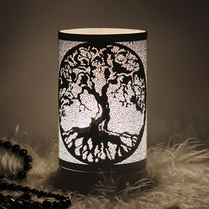 Tree of Life Touch Melt Warmer - Black