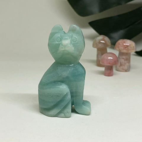 Amazonite Cat CT105