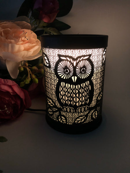 The Night Owl Metal Electric Melt Warmer