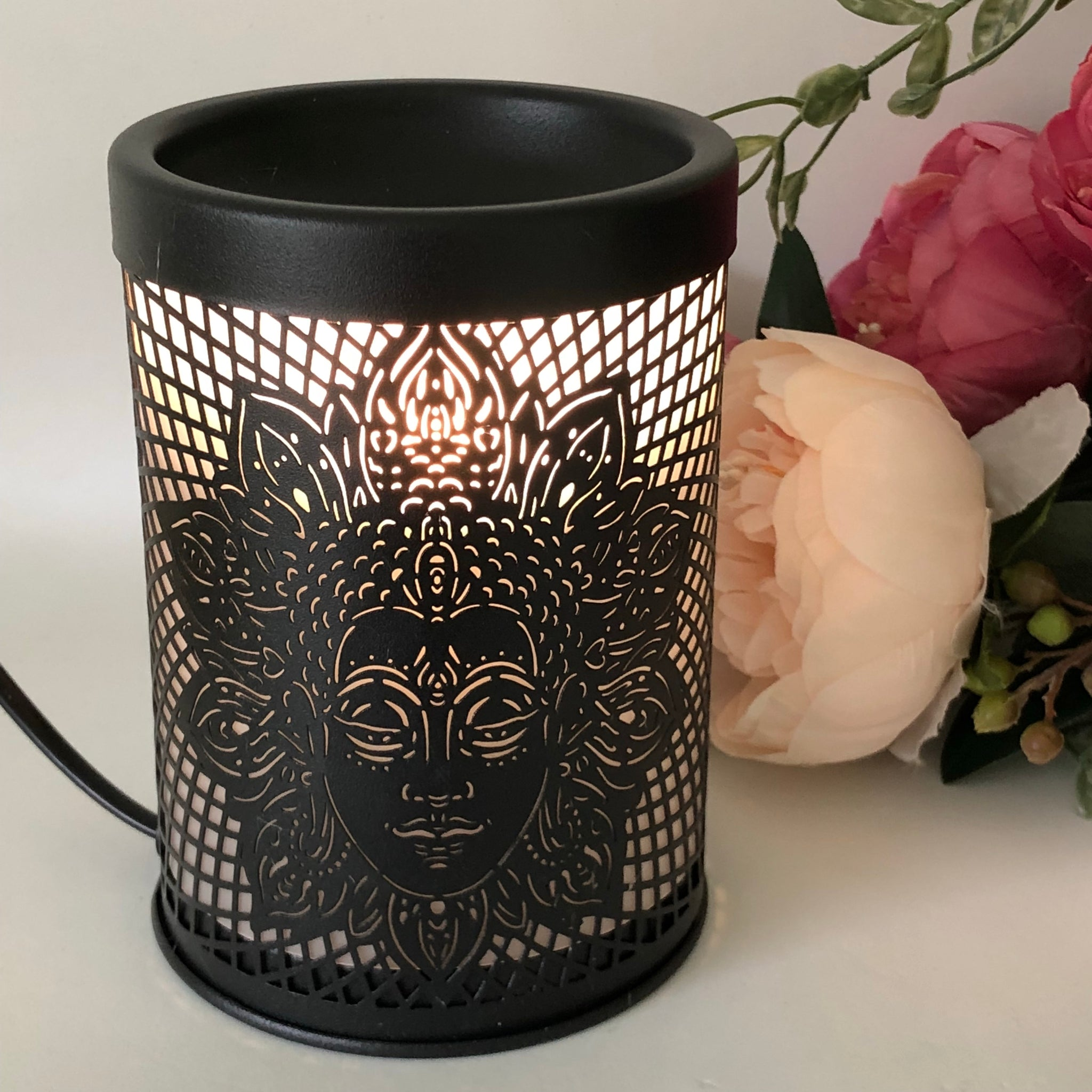 Hollywood Metal Electric Melt Warmer
