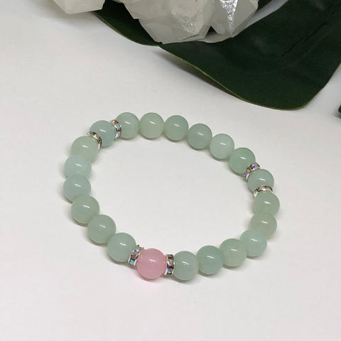 Speak Your Heart Amazonite Bracelet