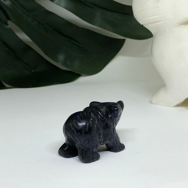 Blue Sandstone Polar Bear - PB103
